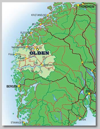 førde kart Fjordblikk Hytter   Kart førde kart